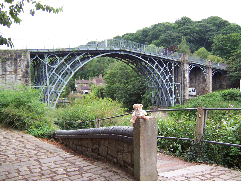Ironbridge, Shropshire, UK : April 2017